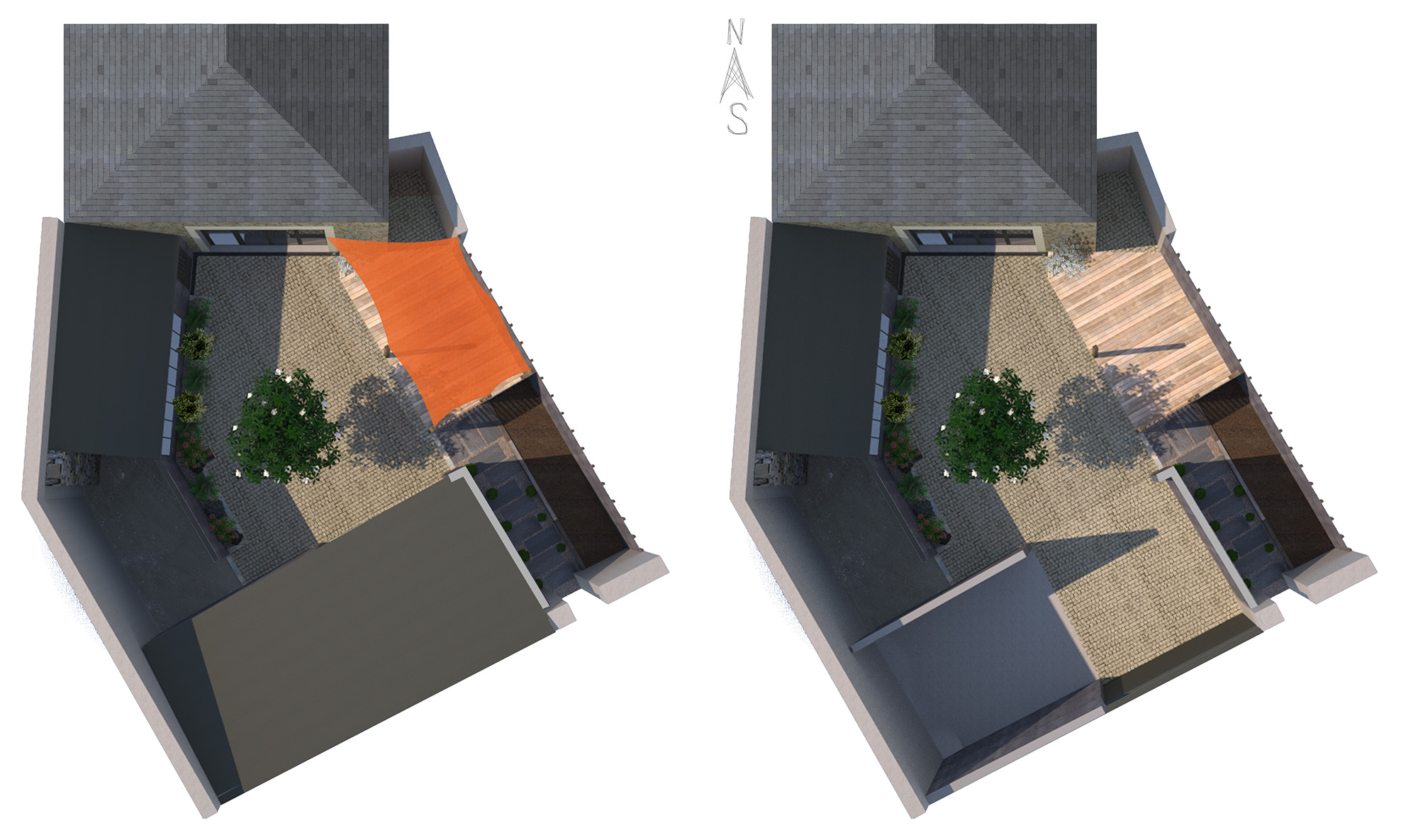 Jardin 3d dreamis for Plan 3d jardin