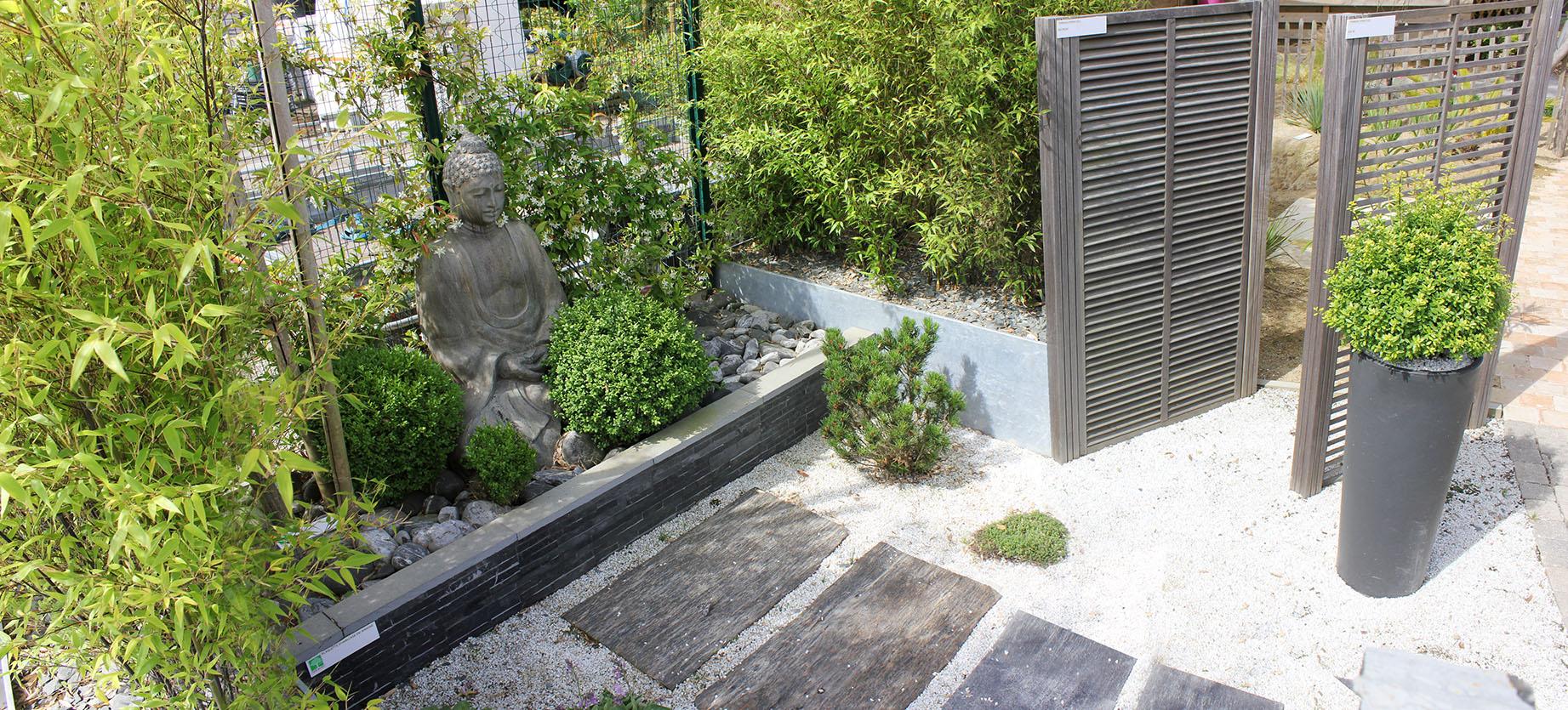 jardin zen dreamis. Black Bedroom Furniture Sets. Home Design Ideas