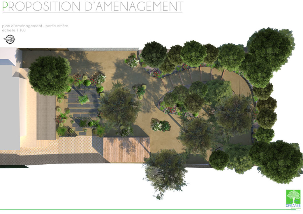 proposition d'amenagement jardin à la baule escoublac